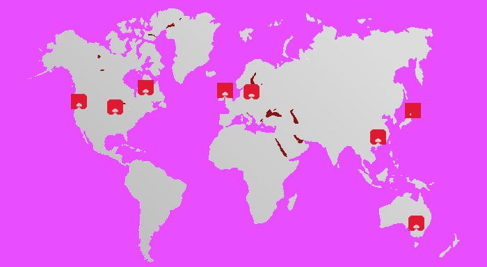 world map kwik lok