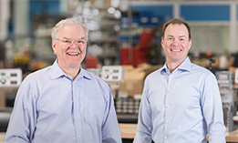 John Rothenbueler and Don Carrell of Kwik Lok